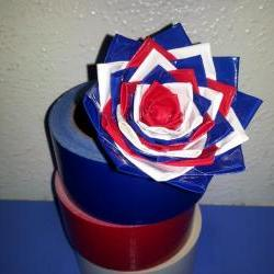 duct tape rose pen